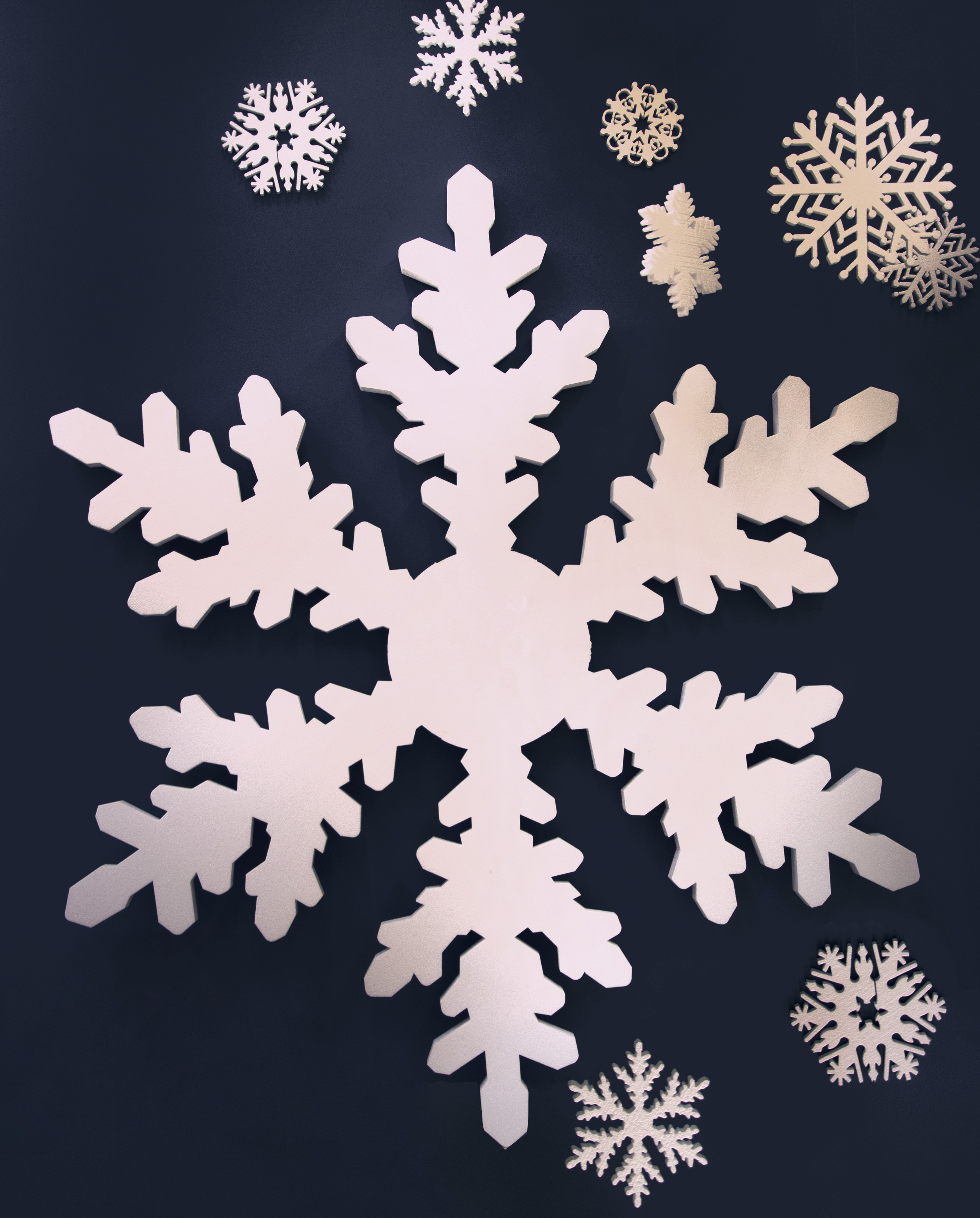 image gallery large snowflakes