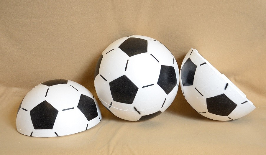 EPS Foam CX-SOCCER Ball 16 Inch, 6 balls per case / $44.92 per ball (Sold by case only)