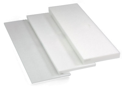 2 X 24 X 36 Styrofoam Sheets White 10 Per Case