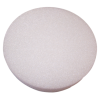 "6x1"" Styrofoam Disc- White - 48 Per Case"
