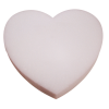 "18x2"" Styrofoam Heart - White - 6 Per Case"