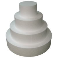 "StyroShapes™ 7""  Thick Cake Dummies - 2 layers of 13 pieces"