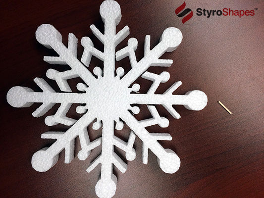 The first step in our Floating Snowflakes tutorial
